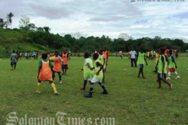 Kids Football Festival Opens