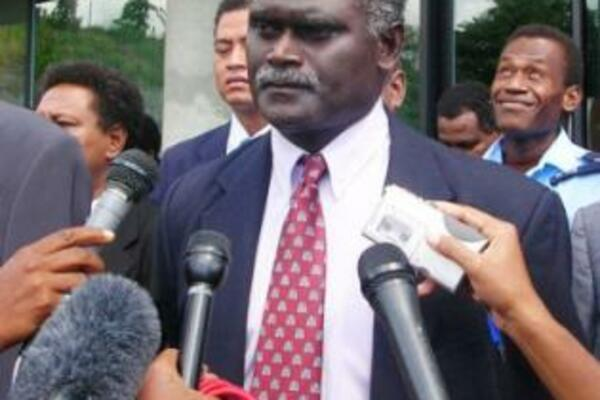 """Mr Sogavare says that the public has all the right to vent their frustration in the media since """"it is simply an irresponsible decision by the caretaker government."""""""