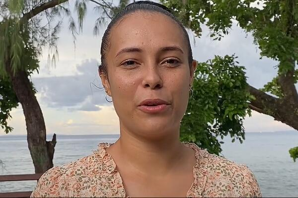 """""""We need to take urgent action now by acknowledging it as a serious threat to our islands,"""" Gladys told Pacific leaders that consisted of Prime Ministers, Presidents and Ministers."""