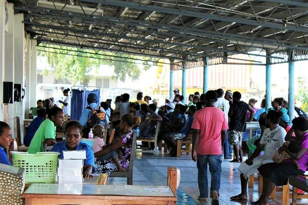 """""""Our NRH should be a place where lives are saved and healed and where it provides hope for sick patients. Our government needs to prioritise and invest in our health systems and NRH,"""" Dr Alice Pollard said."""