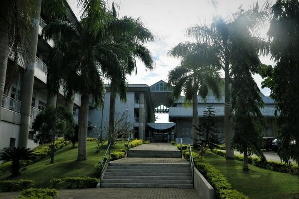 USP's Laucala Campus in Suva, Fiji.