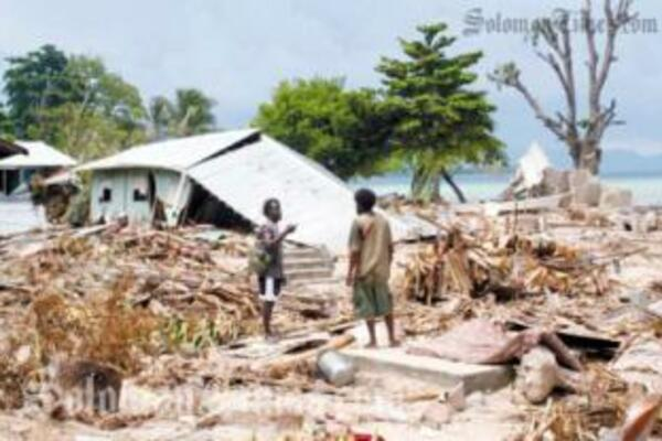 Solomon Islands joins three other countries in the Pacific that are most vulnerable to natural disasters.