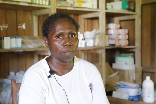 Being the only nurse at Leona, proves to be very difficult. She says the clinic needs to be refurbished as the building was only built for temporary use.