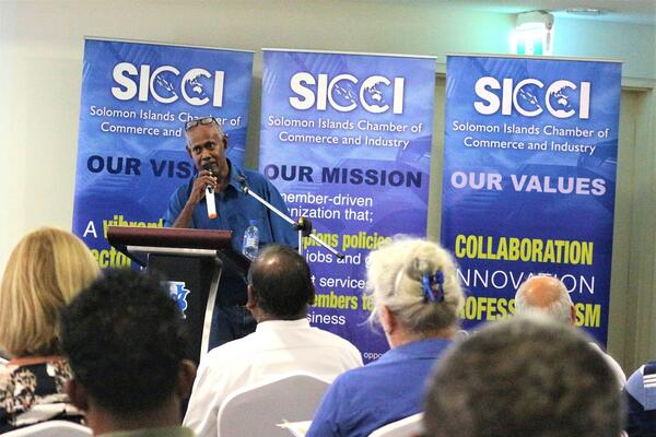 City Clerk, Mr Rence Sore was the key presenter during the Information Session.
