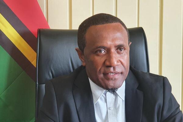 Speaker of the Parliament of Vanuatu, Gracia Shadrack.