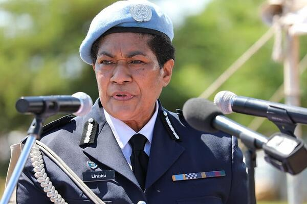 Ms. Unaisi Bolatolu-Vuniwaqa, who also served in the Solomon Islands under RAMSI, was the first woman to be appointed as Police Commissioner of the world's largest peacekeeping mission, UNMISS.