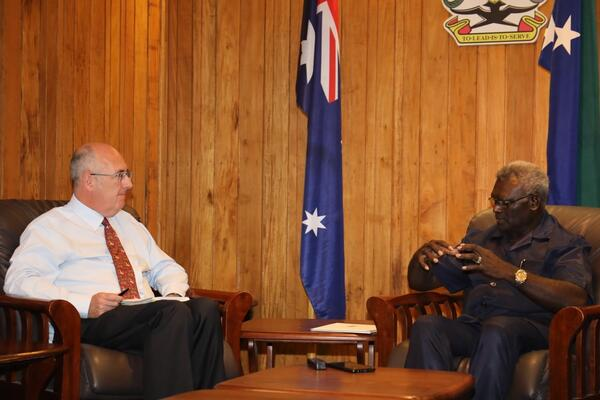 Dr Strahan further highlighted Australia's continued commitment to step up and assist Solomon Islands as well as the wider pacific region in the battle against covid-19 and promised that Australia will help Pacific nations gain access to any vaccine that is found.