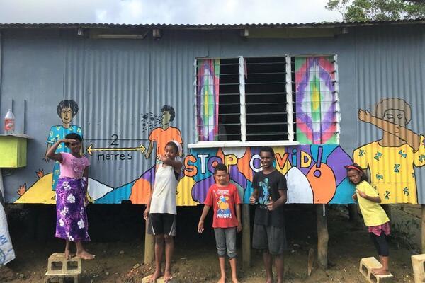 Vuniivi settlement in Lami, Fiji.