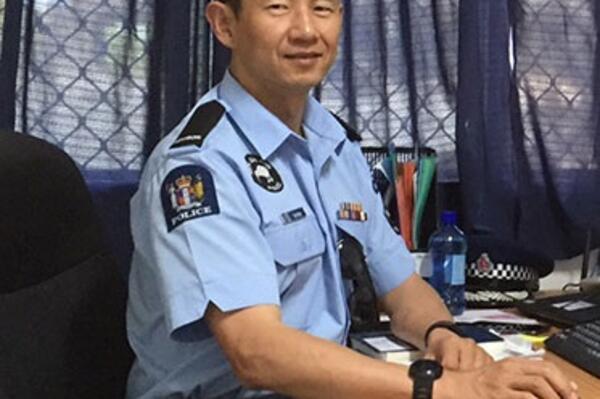 NZ Inspector Kai Shao.