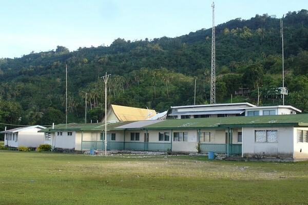 Buala, the provincial capital of Isabel province.