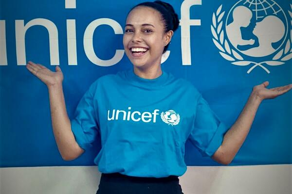 She is also a UNICEF Pacific Supporter, focused on improving child and maternal health and acting as a role model to young women on the island.