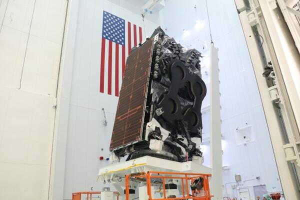 Kacific1 Satellite Set to Launch from Cape Canaveral, Florida