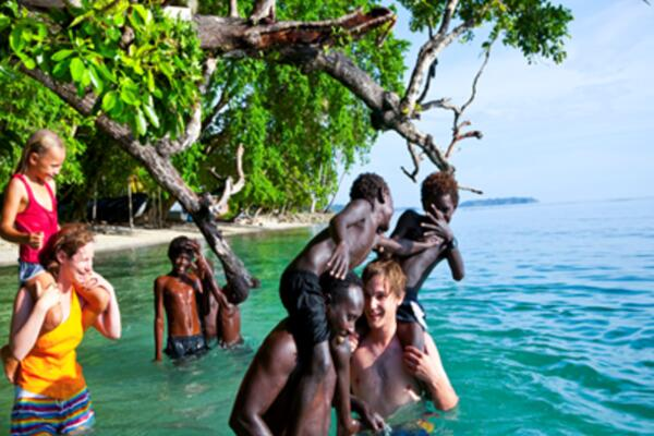 As of May, Solomon Islands visitor figures showed a 12.8% increase.