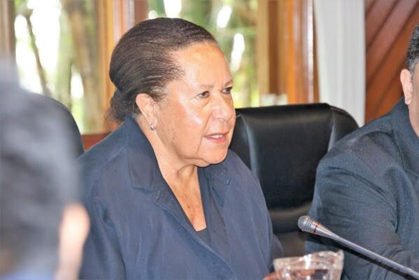 The Secretary General of the Pacific Islands Forum, Dame Meg Taylor.