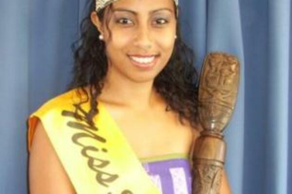 """I hope we will work on helping our stakeholders to combat it, simply by providing awareness to it,"" said the current Miss Solomon Islands, Rabobo Toma."
