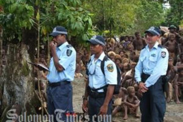 Many in rural Solomon Islands are reportedly not happy with the gradual handover of policing from RAMSI to the RSIPF.