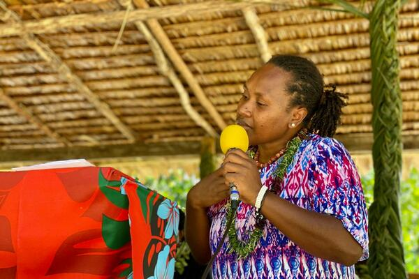 """""""The formal handing over of the certificate to the Patubasioto Land Holding group is now recognised and protected by law as a landholding group with its own rights, interest and ownership,"""" Mrs. Tegavota said."""