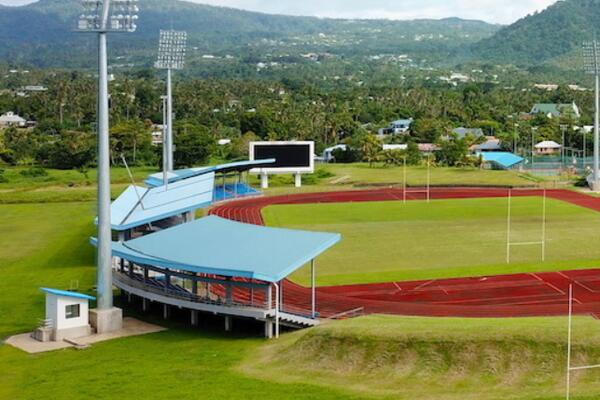 Apia Park Stadium is among the venues being used for the Samoa 2019 Pacific Games.