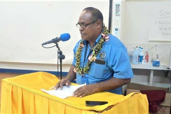 Dr George Malefoasi, NRH Chief Executive Officer (CEO) explained that the undertaking is crucial for the hospital's preparedness and actual response to a community transmission situation.