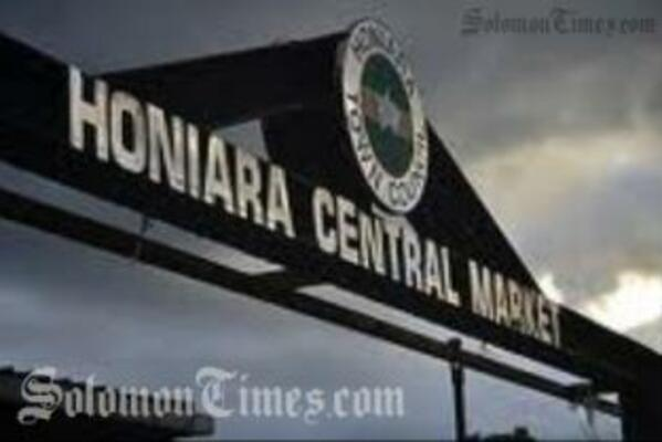 The fatal incident occurred in front of the Honiara Central market early Saturday morning.