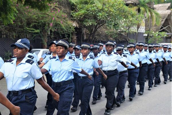 """""""The mission of our Gender Strategy is to improve gender equality and create a workplace that actively values and supports women in all aspects of policing to build a strong and professional police force for all RSIPF officers."""""""
