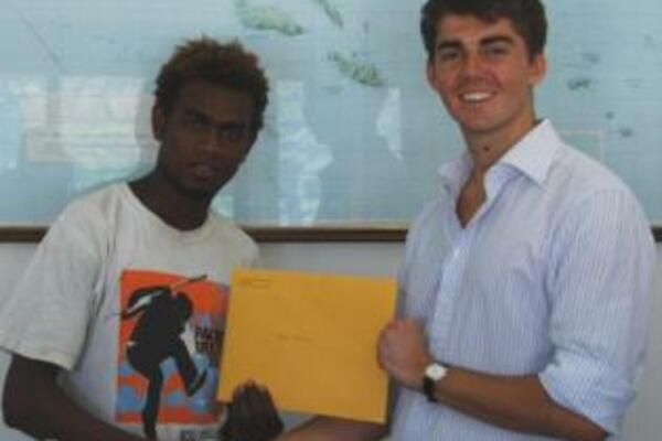 Mr Ewing said Josh's success was well deserved and reflected the extremely high quality of artistic talent in Solomon Islands.