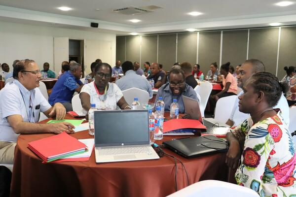 Four (4) thematic areas presented and discussed during the review includes, ensuring strategic vision that is in line with Universal Health Coverage, maintenance of standard quality care, upgrading of infrastructure and other resources and effective response to public health emergencies.