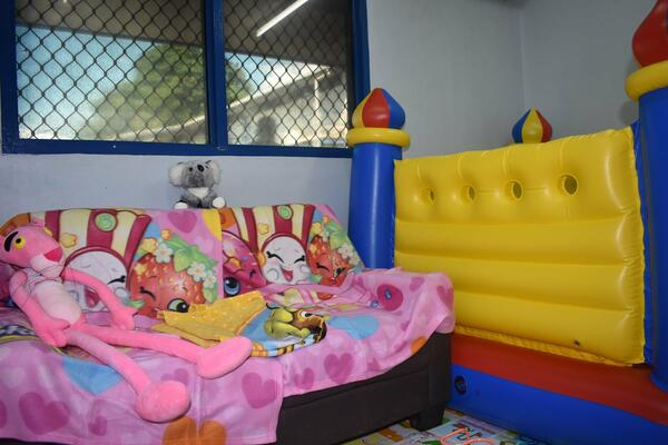 The initiative of a Playroom was supported by the Australian Federal Police (AFP) through Solomon Islands Police Development Program (SIPDP).