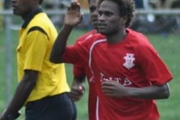 Striker Dennis Ifunaoa is in line for a place in the Solympics squad.