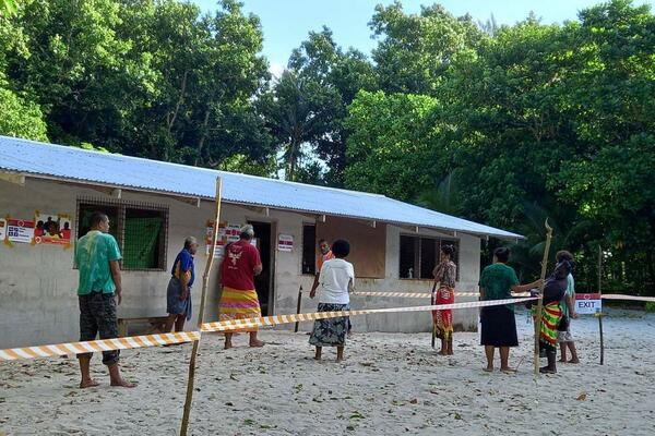 He said despite the low turnout on Anuta island, it was reportedly calm and peaceful in both islands.