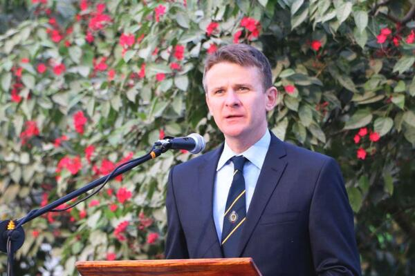 Australia's High Commissioner to Solomon Islands H.E Roderick Brazier.