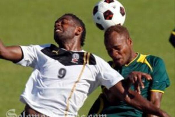 In a nail biting match, Solomon Islands and Fiji ended in a scoreless draw.