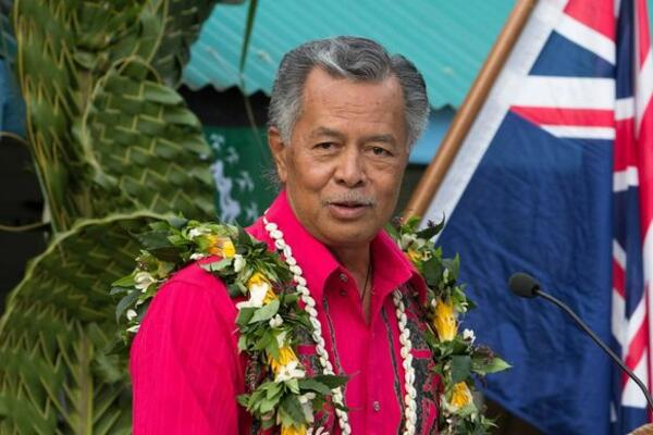 Cook Islands Prime Minister and Minister for Tourism Henry Puna.