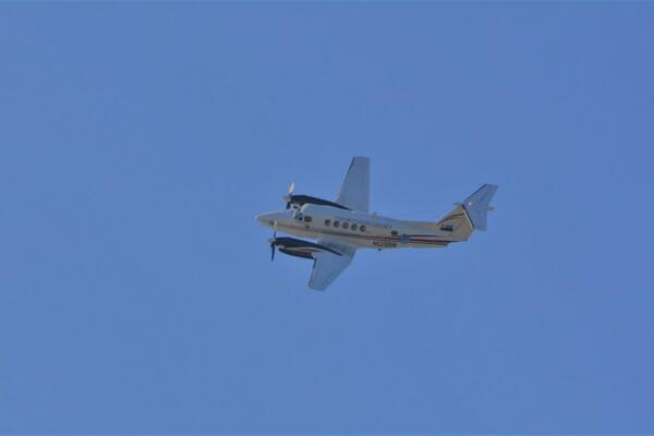 FFA-managed plane doing a fly over during OPIC19.