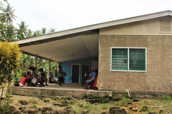 Mbita'ama clinic in the northern region of Malaita province.