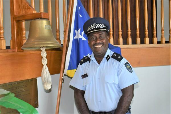 """""""My classmates and I saw the patrol boat Savo pass by our school down to the border between Papua New Guinea (PNG) and Solomon Islands during the Bougainville crisis. I told my friends at that time that one day, I will become a captain of one of those patrol boats."""""""