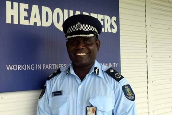 RSIPF Assistant Commissioner for National Capital and Crime Prevention, Simpson Pogeava.