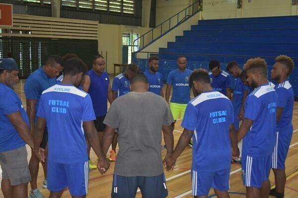 Kooline Futsal Club Aims to Repeat Kurukuru's Feat