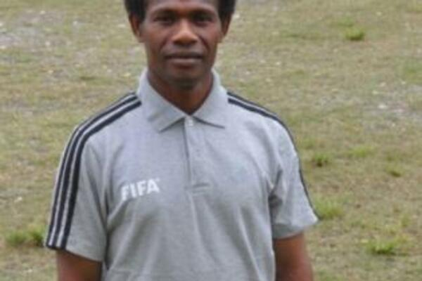 """I look forward to the challenge of teaching futsal and of learning from the experience,"" Victor Waiia."