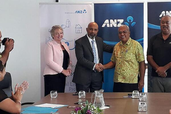 A new partnership between ANZ and Ola Fou where they will be given the opportunity to be part of MoneyMinded and Business Basics which is ANZ's financial literacy program.