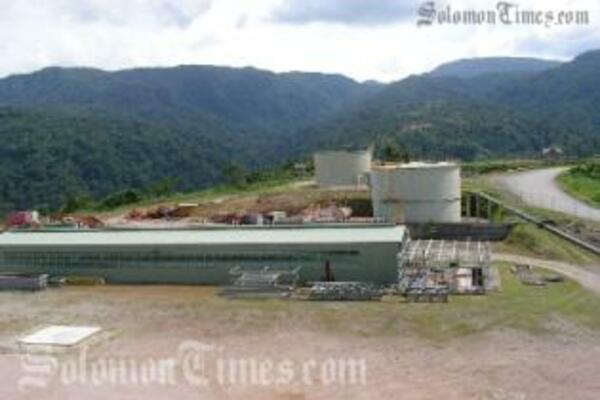 Gold Ridge Mine struggles to re-open following its closure during the ethnic unrest.