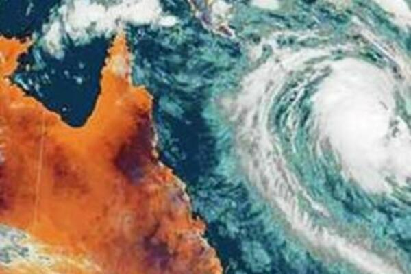 If the size of the satellite image is anything to go by then Cyclone Yasi is a potentially highly destructive storm system.