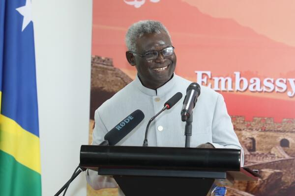 """It is a decision that the Government of Solomon Islands carefully and thoughtfully made after more than 3 decades of defying the clear position taken by the United Nations, and thereby placed Solomon Islands, as a member of the United Nations, in the right side of History,"" Sogavare said."