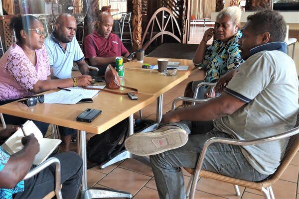 Consultations with the Island Sun news team.