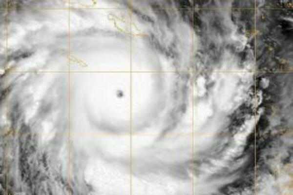 Cyclone Ului, recorded yesterday as it travels South of Solomon Islands.