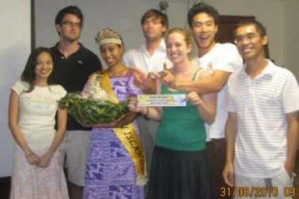Miss Solomon Islands and the Trivia Champions, Team Wayfarers.