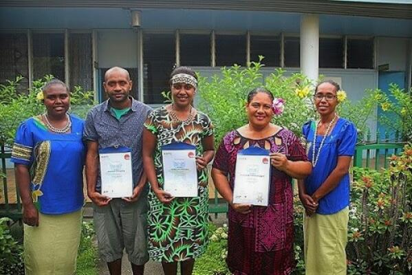 """Australian High Commissioner to Solomon Islands, His Excellency Dr Lachlan Strahan, congratulated the graduating cohort, saying """"skills are so important, that's how people build a new life, how they build a job, a career and how they build things for their family."""""""