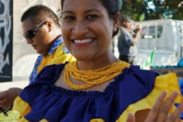 Former Miss South Pacific, Ms. Sinahemana Hekau of Niue was also part of the participants.