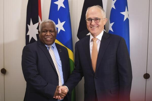 """We spend billions of dollars a year in foreign aid, and this is a very practical way of investing in the future economic growth of our neighbors in the Pacific,"" says Australia's Prime Minister."