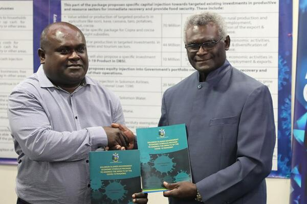Prime Minister Manasseh Sogavare launched the Solomon Islands Economic Stimulus Package in early May 2020. Over $US39 million was committed by government.